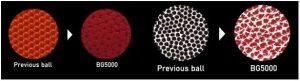 tekstura piłki molten b7g500